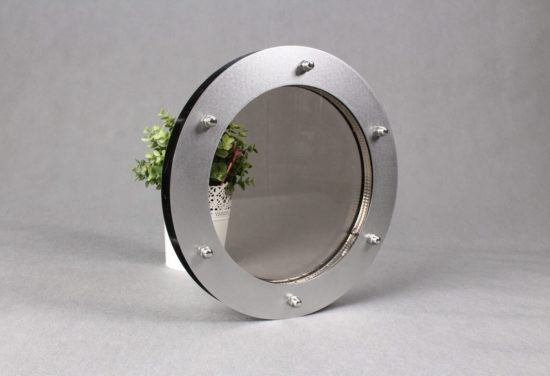 bulaj do drzwi 24 cm szkło przejrzyste zespolone
